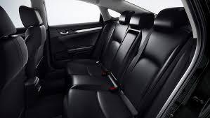 2018 civic heated rear seats