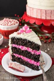 Chocolate Peppermint Layer Cake Inside BruCrew Life