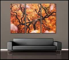 ... Large-size of Ideal Multi Panel Canvas Wall Art Set Yellow Abstract Oil  Paintings Onhand ...