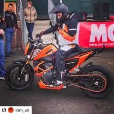 2018 ktm 690 duke.  ktm kevin carmichael getting ready to perform his first ever stunt show on the ktm  690 duke inside 2018 ktm duke