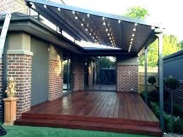 pergola canopy diy with retractable shade kit uk