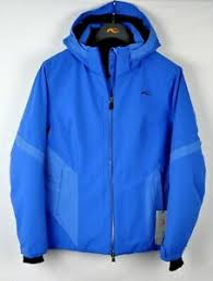 Details About Kjus Womens Laina Insulated Ski Snow Jacket Ls15 E06 Strong Blue Size 42