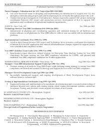 Sample Resume Project Coordinator Project Management Resume Templates] 100 images 100 best cv images 89
