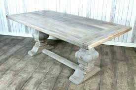 gray wood dining table. Grey Wood Dining Table Set Distressed Gray Top Limed Oak