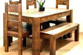 small dining table with bench decoration rustic kitchen chairs tables benches room sets ikea