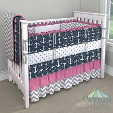 anchor baby nursery whale and anchor crib bedding nautical baby girl crib bedding 49 best nursery