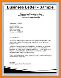 Writing A Business Letter How To Write A Letter Head Letter Format