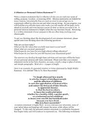 What Is Your Personal Mission A Christian Mission Statement And Personal Mission And Vision Of A