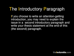 introduction paragraph in an argumentative essay from the archive  good argument essay · introduction for an argumentative
