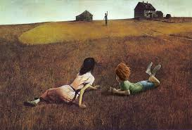 whether photoing famous paintings like american gothic by grant wood above slipping into the serene setting of christina s world by andrew wyeth