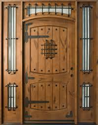 Rustic CUSTOM FRONT ENTRY DOORS - Custom Wood Doors from Doors for ...