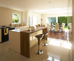 Image From Post Bar Style Kitchen Island With Stools Also Breakfast