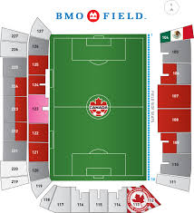 Bmo Field Seating Chart Seat Number Gillette Stadium Section