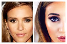 jessica alba inspired makeup tutorial