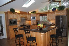 Small L Shaped Kitchen Kitchen Islands Gorgeous And Cool Red Cabinet With Modern