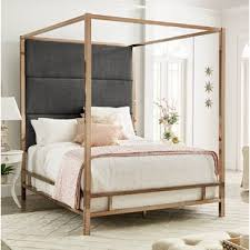 Gold Canopy Bed Frame Attractive Bedroom Beds Inside 14 ...