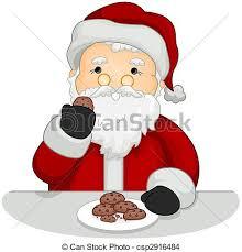 cookies for santa clip art. Modren Cookies Santa Eating Cookies On Cookies For Clip Art O
