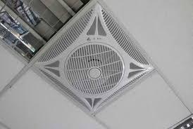Drop Ceiling Fan Installation