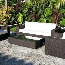 modern rattan furniture. full image for rattan effect egg patio furniture set dark brown and white rectangle modern g
