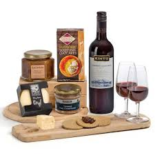 cheese wine pate ers chutney her gift box for