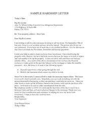 Hardship Letter Example Barca Fontanacountryinn Com