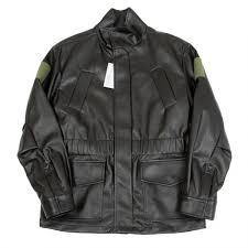 image is loading gosha rubchinskiy fake leather jacket size m k 48163