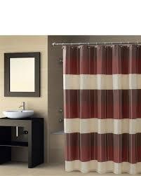 Maroon Bathroom Accessories Shower Curtains Bathroom Curtains Linens N Things