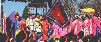 traditional vietnamese dress will be part of the tet festival file photo