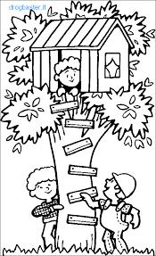 Casa Da Colorare Per Bambini Con Home A Casa Disegni Per Bambini Da