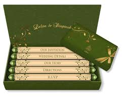 Wedding Card Template Mesmerizing Email Wedding Card Mini Scroll Box Style Design 48 Luxury Indian