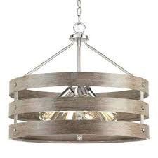 chandeliers chandelier pendant light nickel cage lights lighting the home depot 4 brushed drum with