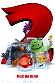 Angry Birds 2 - Poster   Ganze filme, Angry birds, Filme