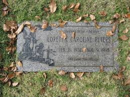 Loretta Peters (1932-1998) - Find A Grave Memorial