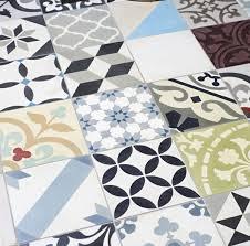 patchwork multicolour tile