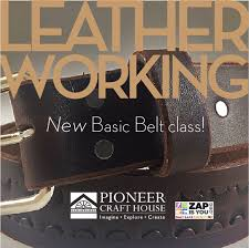 leather working basic belt class