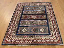 4 1 x5 9 special kazak khorjin design hand knotted pure wool rug sh37701