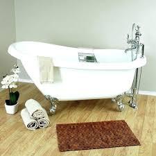 best acrylic bathtub acrylic bathtub reviews inch acrylic slipper tub package best acrylic bathtub reviews acrylic