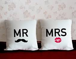custom pillow covers. Wonderful Covers Buy Popworks His Her Love Cotton Linen Couple Pillow Covers Personalized Custom  Cases In Cheap Price On Alibabacom Intended R