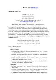 Curriculum Vitae Format Of Good Resume Resume Management