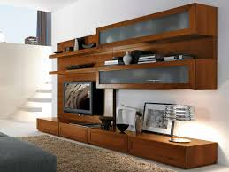 ... Astonishing Furniture For Living Room Decoration With Various Wall TV  Cabinet With Doors : Extraordinary Modern ...