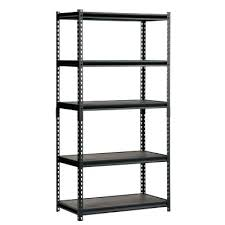 rubbermaid shelving unit home depot shelving units luxy 5 shelf steel storage shelving unit in black rubbermaid shelving unit