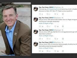 Rep. Paul Gosar tweet links to accused ...