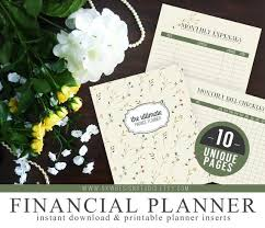 Ultimate Financial Budget Planner Organizer Kit Instant
