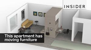 Affordable Apartment Furniture this micro apartment has moving furniture youtube 3224 by uwakikaiketsu.us