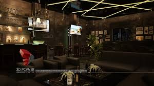... 3d-visualization-studio-interior-for-bar ...
