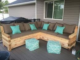 Pallet Deck Furniture Painting