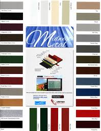 Roll Form Steel Colors Finishes Atwater Mn