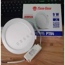 Đèn LED âm trần Panel Tròn ánh sáng trắng/vàng 135/9W Rạng Đông tại Bình  Dương
