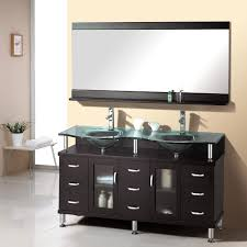 elegant black wooden bathroom cabinet. Enchanting Paint Bathroom Cabinets Small Stainless E Glasses Washbasin Steel Faucet Head Black Real Wood Vanity With Storage Elegant And Efficient Wooden Cabinet H
