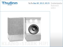 bose 501. 2 replacement woofers for bose 501 speakers